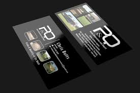 Bold Serious Flooring Business Card Design For A Company By Riz