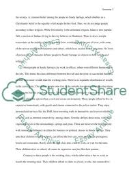 sandy springs community essay example topics and well written  sandy springs community essay example