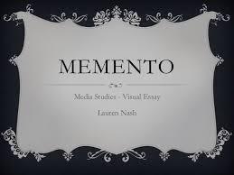memento presentation media