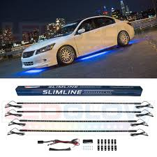 Under Car Light Kit Details About Ledglow Blue Neon Led Underbody Under Car Glow Lighting Kit W 126 Leds Switch