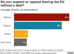 Do Voters Support A No Deal Brexit Bbc News