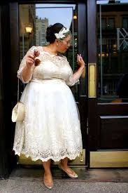 plus size wedding dresses with sleeves tea length discount 2018 cheap price modern short wedding dresses tea length