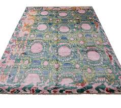 contemporary and abstract 39psychedelic fantasy39 ikat area trippy area rug