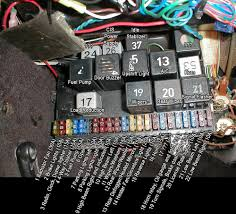vw mk2 fuse box diagram vw wiring diagrams online
