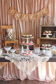 Beautifully rustic and romantic Vintage Wedding Dessert Table!