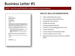 Typing Business Letters The Letter Sample Pertaining To Typing