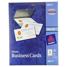avery 28371 templates avery business cards for inkjet printers 28371 matte white pack of