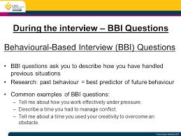 Behaviour Based Questions Acing Graduate Interviews Ppt Video Online Download