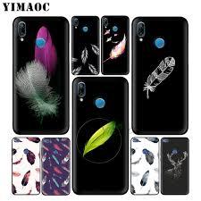 YIMAOC перо искусства Красочный мягкий <b>чехол</b> для <b>huawei</b> ...