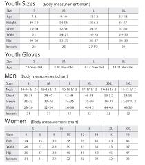 Boulder Gear Size Chart Snow Dragons Kids