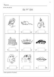 Writting worksheets for kindergarden to practice home > language arts > phonics > phonics worksheets >learn to read: Ou Phonics Worksheets Sound It Out Phonics