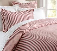 ticking stripe comforter striped bedding collections cozy best blue sets we put a list