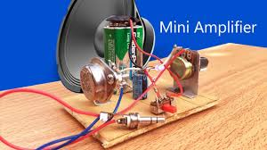 how to make easy mini amplifier 9v battery how to make easy mini amplifier 9v battery