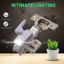 <b>1pc</b> Smart Sensor <b>Cabinet Led</b> Light <b>Hinge</b> Lamp Hydraulic <b>Hinge</b> ...