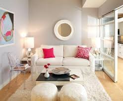compact furniture small living living. Furniture For Compact Living Sofa Slipcover In Bright Pink Color White Decorating Ideas Small