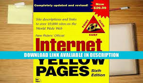 book internet yellow pages 6th ed by christine maxwell video dailymotion