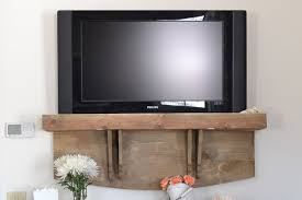 tv on wall where to put cable box. a faux tv shelf for concealing cable boxes tv on wall where to put box h