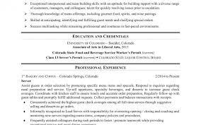Job Description Of A Bartender For Resume Fancy Food Server Job Description Forume On Catering Sample 49