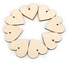 product images gallery universal love hearts shape wooden