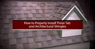 3 tab shingles red. How To Install Asphalt Shingles By Roofingintelligence Com Youtube 3 Tab Red A