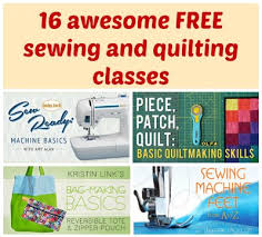 Take a Free Online Sewing or Quilting class from Craftsy TODAY ... & Links to all the free sewing and quilting classes on Craftsy and a summary  of each Adamdwight.com