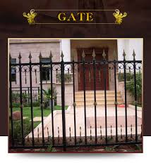Wrought Iron Fence Styles And Designs Sgf1010 China New Style House Design Wrought Iron Fence Oem