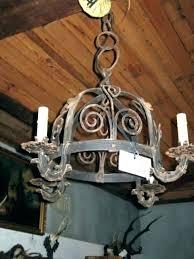 cast iron chandelier wrought chandeliers antique for lighting bollards