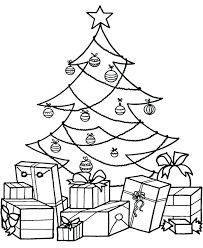 christmas tree with presents coloring pages. Perfect Presents Christmas Gift Coloring Page Pages Of Presents Present  Tree  Throughout Christmas Tree With Presents Coloring Pages M