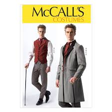 Mccalls Costume Patterns Mesmerizing Amazon McCall Pattern Company M48 Men's Costumes Size MEN