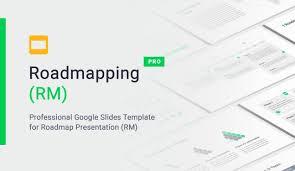 Org Chart Template Google Slides Google Slides Roadmap Template