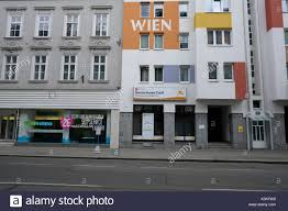 Europe Austria Vienna Capital Facades Bauhaus Stock Photo