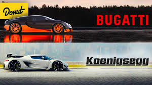 Who is the fastest car? Donut Media Bugatti Vs Koenigsegg Which Is The Better Hypercar And Why Facebook