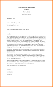 Letter Intent New Job Application Teacher Creative Fresh Teaching