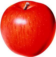 red apple, wallpapers for desktop