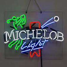 Michelob Light Golf Beer Bar Pub Store Party Room Wall