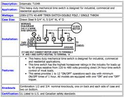 intermatic mechanical time switch t103 wiring diagram wiring solved how connect a new intermatic t104r 120v fixya
