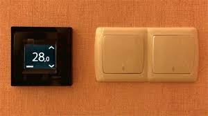 Теплый пол №4 – <b>Терморегулятор DEVIreg Touch</b> – сенсорный ...