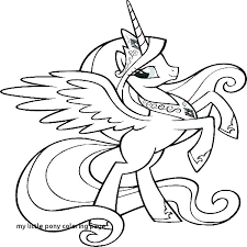 My Little Pony Color Sheets Little Pony Coloring Pages My Sheets My