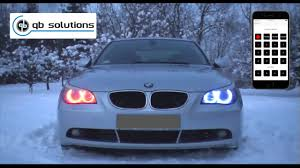 New Bmw Color Changing Angel Eyes Chameleon X Ios And