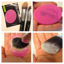 makeup brush cleaning pad use sephora cleaning pad to clean all you makeup brushes it 39