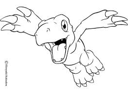 Small Picture Agumon flying coloring pages Hellokidscom