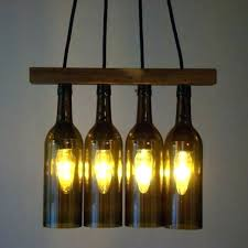 how to make a chandelier out of wine bottles wine bottle chandelier creative ideas for lighting how to make a chandelier out of wine bottles