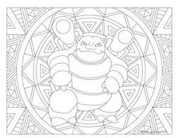 Blastoise Coloring Page Best Of Mega Blastoise Coloring Page