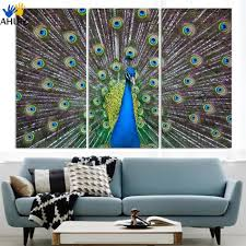 Peacock Color Living Room Popular Peacock Painting Buy Cheap Peacock Painting Lots From