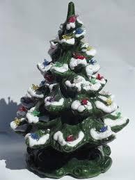 Ceramic Christmas Trees U2013 Happy HolidaysCeramic Tabletop Christmas Tree With Lights