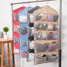 double sided door storage wall