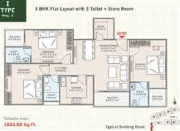 memphis office layout. bhk flat layout with 3 toilet store room memphis office p
