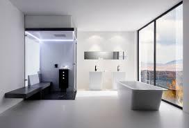 modern white bathroom. Bathroom Contemporary Design Modern Home With The Latest Interior Furniture Bathtub For Luxutious. Designe White