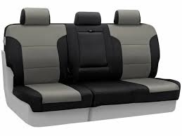 coverking second row medium grey neoprene seat covers