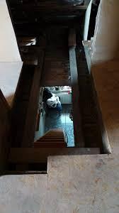Eine wellhöfer bodentreppe, oder auch speichertreppe genannt, wird bei bedarf ausgeklappt. Projekt Osb Treppe Selber Bauen Das Kleine Haus Am Wendlandrand